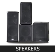 speakers Equipment Rental 2
